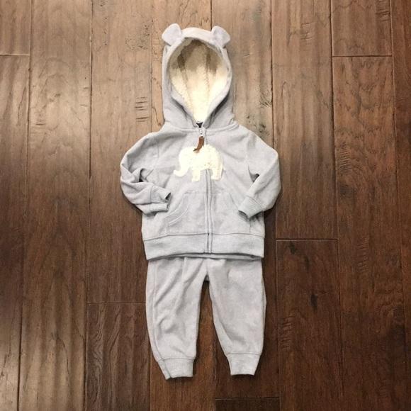 Carter's Other - Carter's 2 Piece Fleece Outfit